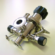 Custom made sample valves