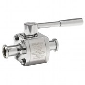 ADCA M3HP Ball Valves DIN DN10-50 Tri-Clamp/Tri-Clamp