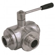 Aerre Inox VS3V Three ways Ball Valves